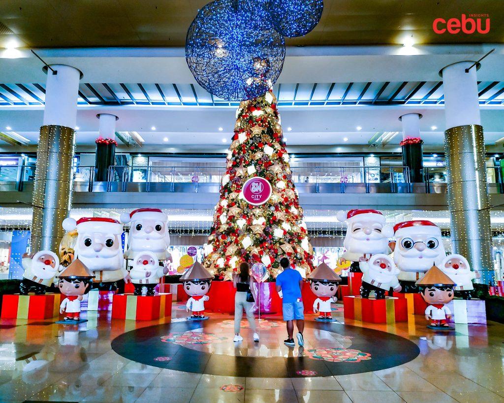 SM City Cebu Christmas display