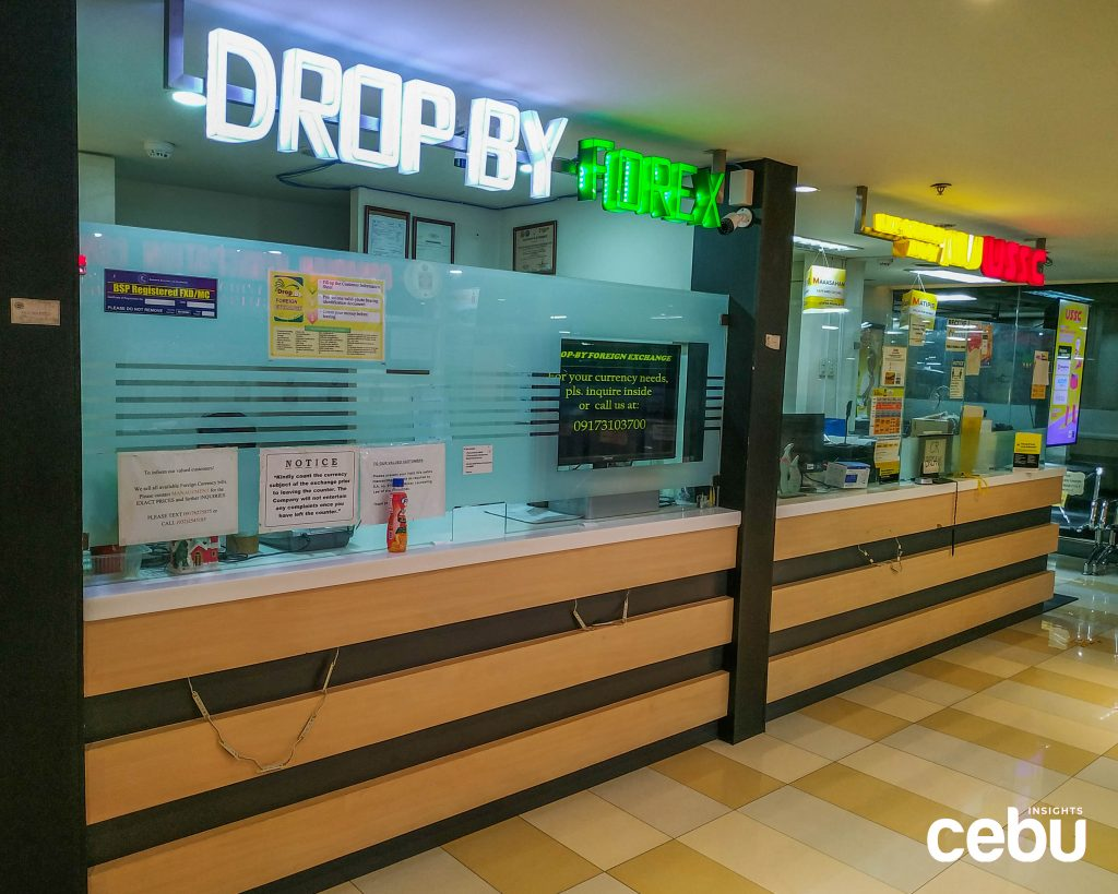 Drop by Forex at Ayala Center Cebu