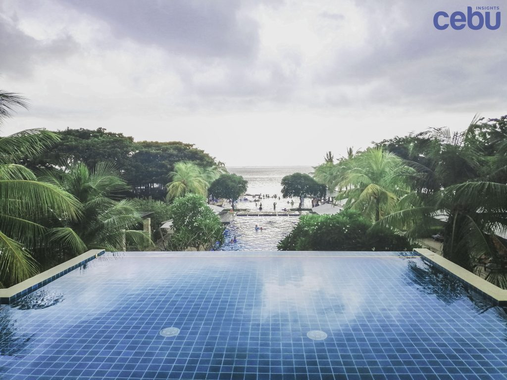 Pool at a hotel in Cebu