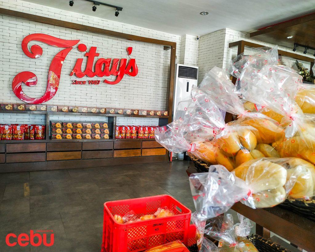 Bread sold at Titay's Liloan
