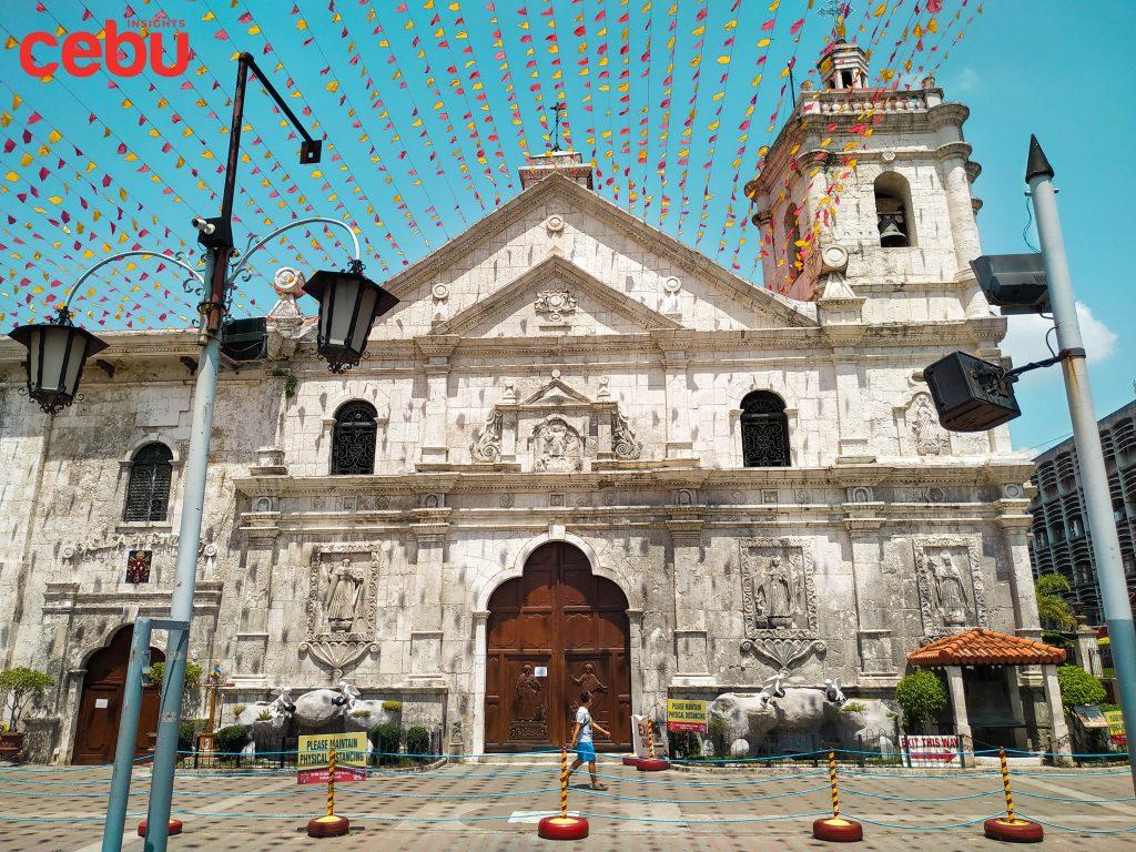 Basilica del Sto. Niño facade